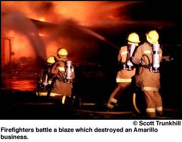 Amarillo, Texas Fire