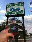 Flat Stanley goes out to eat