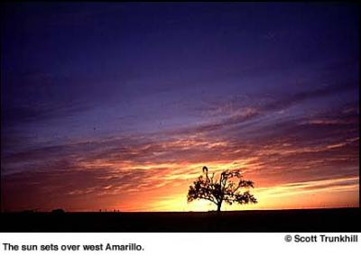 Amarillo, Texas Sunset
